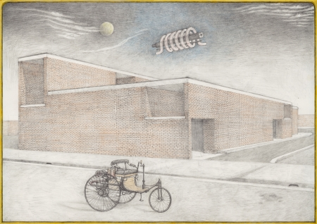 Women's Medical Centre and Abortion Clinic with 1886 Benz Patent Motorwagen by Rheinische Gasmotorenfabrik Benz  & Cie. © 2021 by Hecate Sibonga, Torsten Slama, International Publications Organization