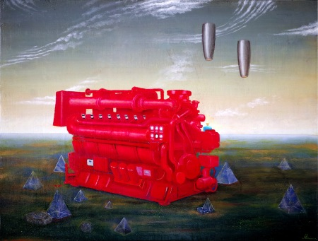Natural Gas Generator painted by Torsten Slama