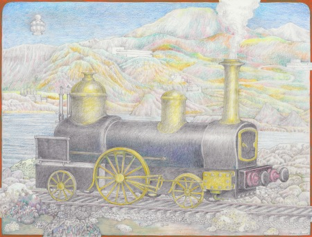 The Jansenist Engine, drawing by Torsten Slama, based on a photographic plate of currently forgotten source.